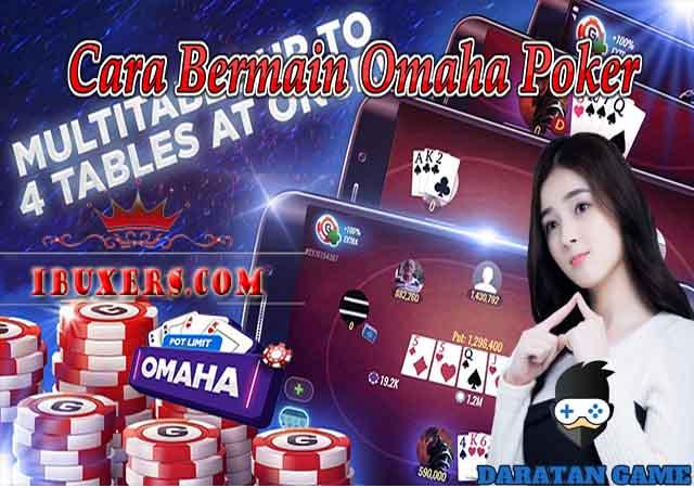 Panduan & Cara Bermain Omaha Poker